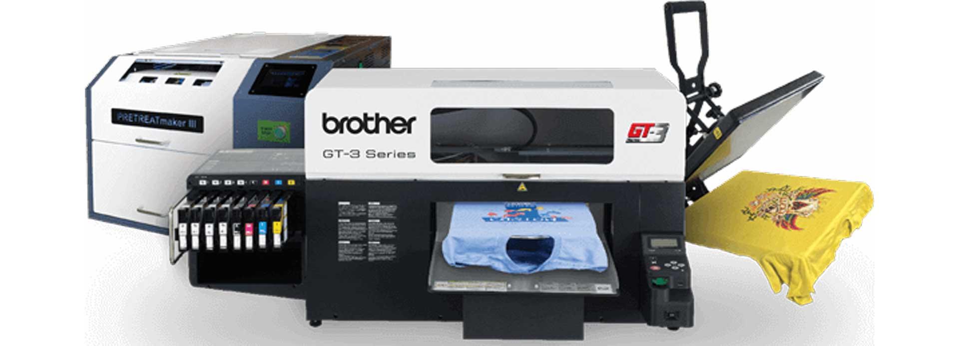 DTG Printing equipment